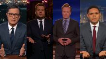 Frustrated late-night hosts call for gun control laws in wake of deadly Las Vegas shooting