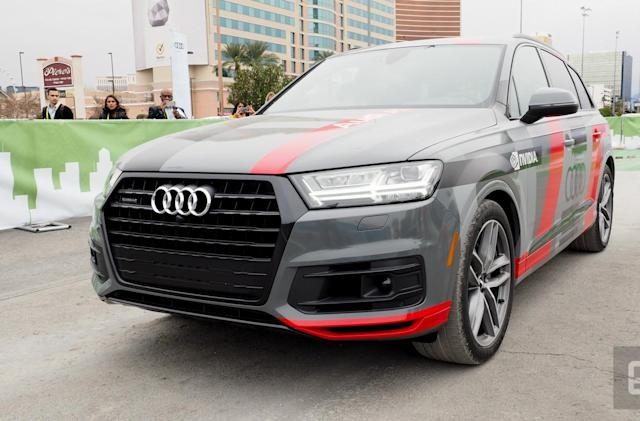 Audi and NVIDIA give an AI a crash course in driving
