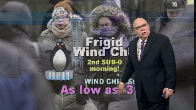 Forecast: Frigid wind chill