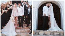 Karl calls Jasmine his 'saviour' in emotional wedding speech