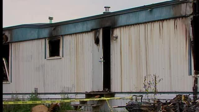 Elyria Mobile Home fire