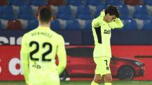 Atlético erleidet Rückschlag