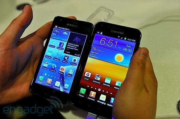 Galaxy S II for Sprint, AT&T, and T-Mobile hands-on (video)