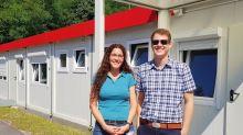 Container-Siedlung: Wilmersdorfer Container-Dorf ist bezugsfertig