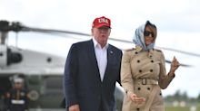 Trump resort in Ireland promotes presidential visit, despite pledge