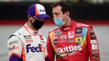 Kyle Busch criticizes lapped cars, predicts playoff elimination
