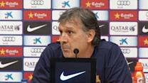 Barca coach Martino says they'll do their best against Real Madrid