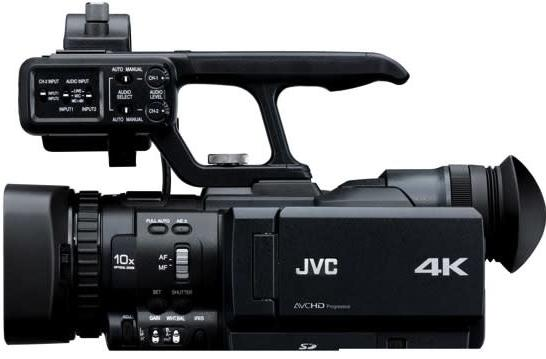 JVC's 4K camcorder begins making throat-cutting motions towards the RED Scarlet