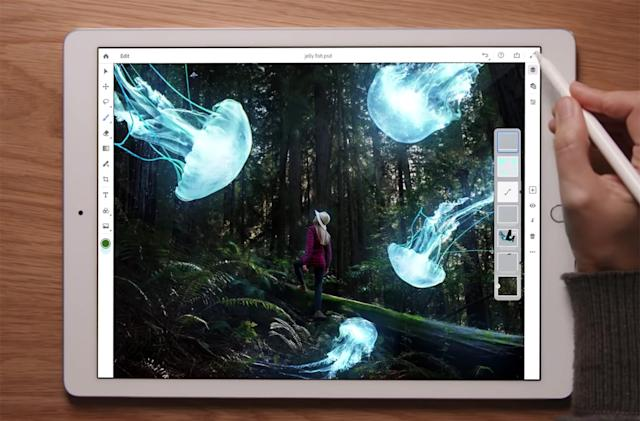 Adobe Photoshop CC for iPad promises 'real' mobile image editing