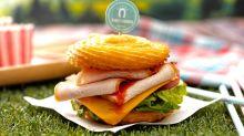 吉拿棒竟然做成漢堡 全球首發一吃就上癮