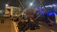 13 arrested after Extinction Rebellion blockade newspaper printing presses