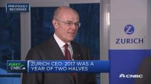Zurich CEO feels 'very good' about 2018 and 2019 after earnings beat