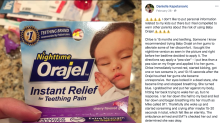 Mom warns parents of popular teething gel after 15-month-old daughter's health scare