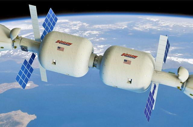 Inflatable space stations could orbit the Earth by 2020