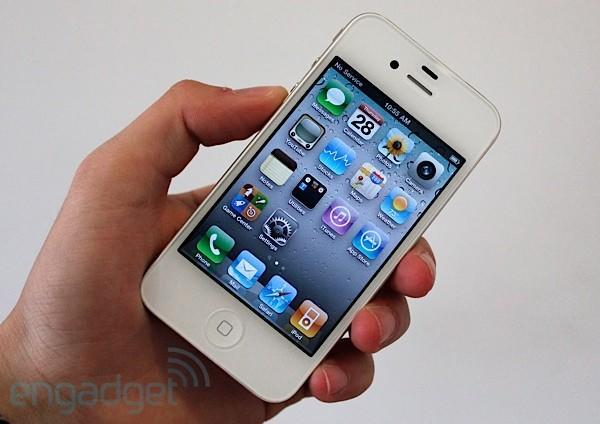 White iPhone 4 hands-on (again)
