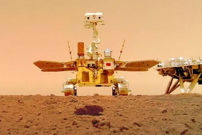 ESA will try to fetch data from China's Mars rover with a new method: listening