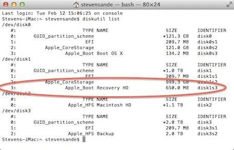 Finding Steve's recovery partition: Solving an Apple mystery