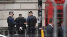 British police holding a man after incident in Westminster - Reuters witnesses
