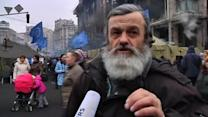 Kiev residents critical of Russian moves to send troops to Crimea
