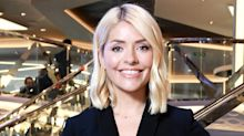 Holly Willoughby wears perfect autumnal outfit at Downton Abbey for This Morning special