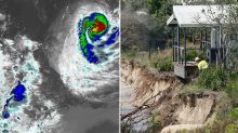 Cyclone Uesi set to smash Australia's east coast with huge storm waves