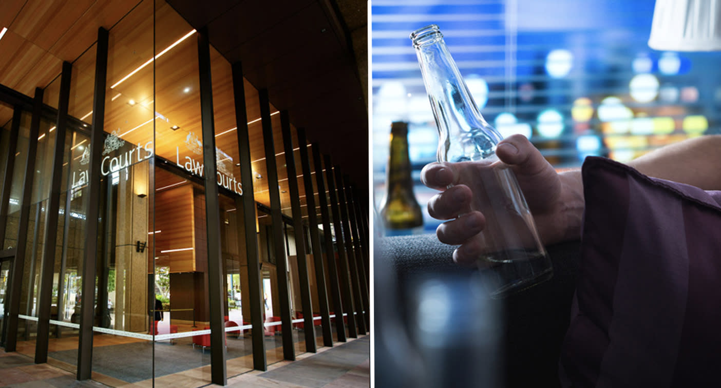 Dad drank 36 beers before death in son's manslaughter case, NSW court hears