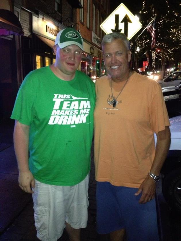 Good-natured Rex Ryan takes photo with Jets fan wearing ...