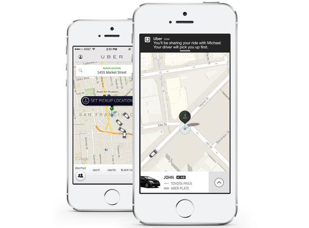 Uber's latest service has you splitting your ride fare with strangers