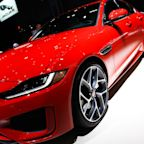 Jaguar shows off high-tech upgrades to classic XE sports sedan at New York auto show