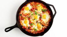 Overnight Portuguese Baked Eggs