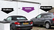 Millionaires in 'trivial' war over 30cm of car parking space in Hampstead