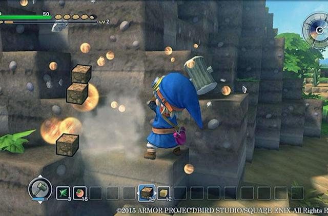'Dragon Quest Builders' is a shallower, more polished 'Minecraft'