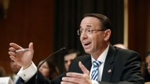 Rosenstein: I'd fire Russia probe special counsel only if 'good cause' to do so