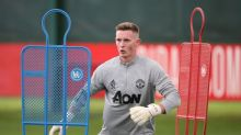 Dean Henderson targeting No1 spot for Manchester United and England after international call