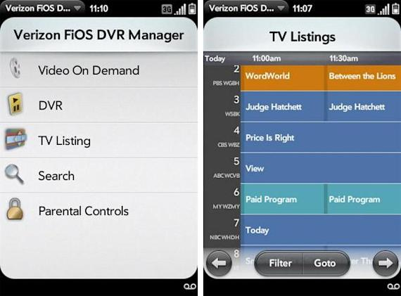 Verizon's FiOS DVR Manager for webOS is out, getting good reviews