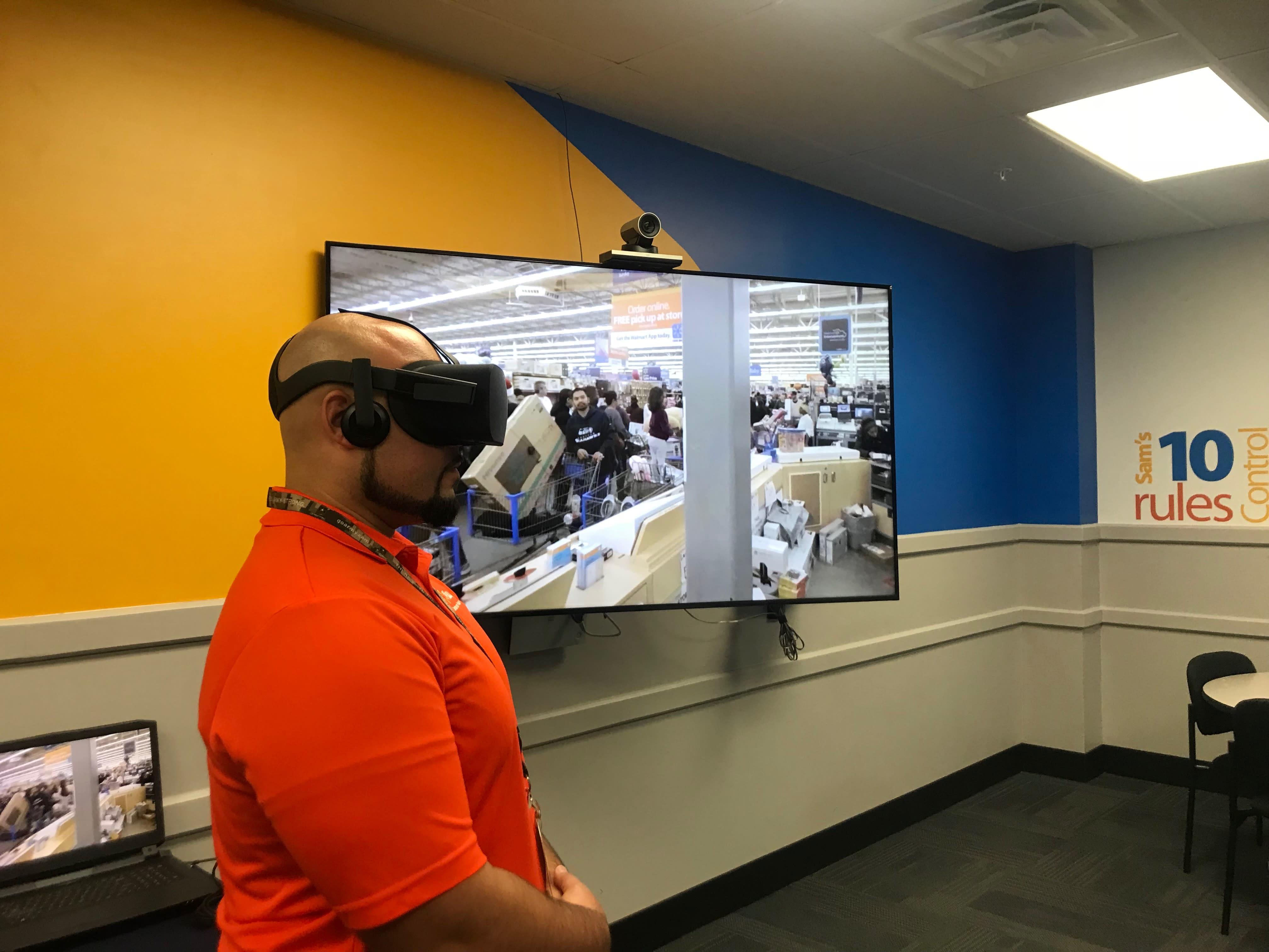 Walmart turns to VR to train associates
