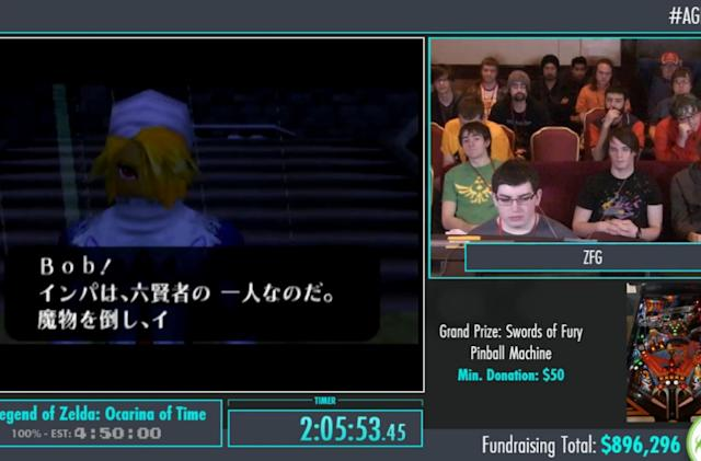 Summer is watching people beat games ridiculously fast for charity
