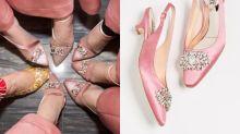 姊妹團襯好姊妹鞋!盤點15對夢幻粉紅色靚鞋