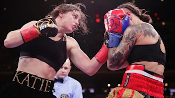 Katie Taylor shines in MSG debut, defends titles