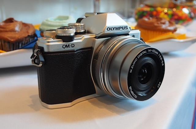 Olympus' E-M10 II mirrorless camera is small, but feature-packed