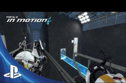 Free Portal 2 In Motion co-op DLC out today on PlayStation 3