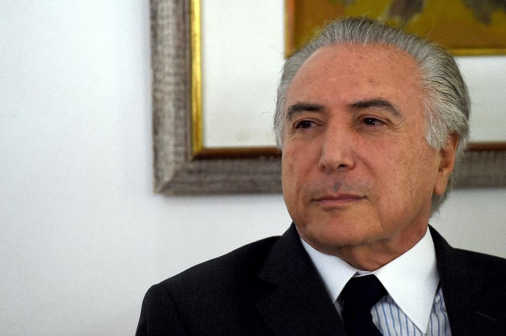 Brazilian Vice President Michel Temer will take over as President while an impeachment trial against Dilma Rousseff takes place (AFP Photo/Evaristo Sa)