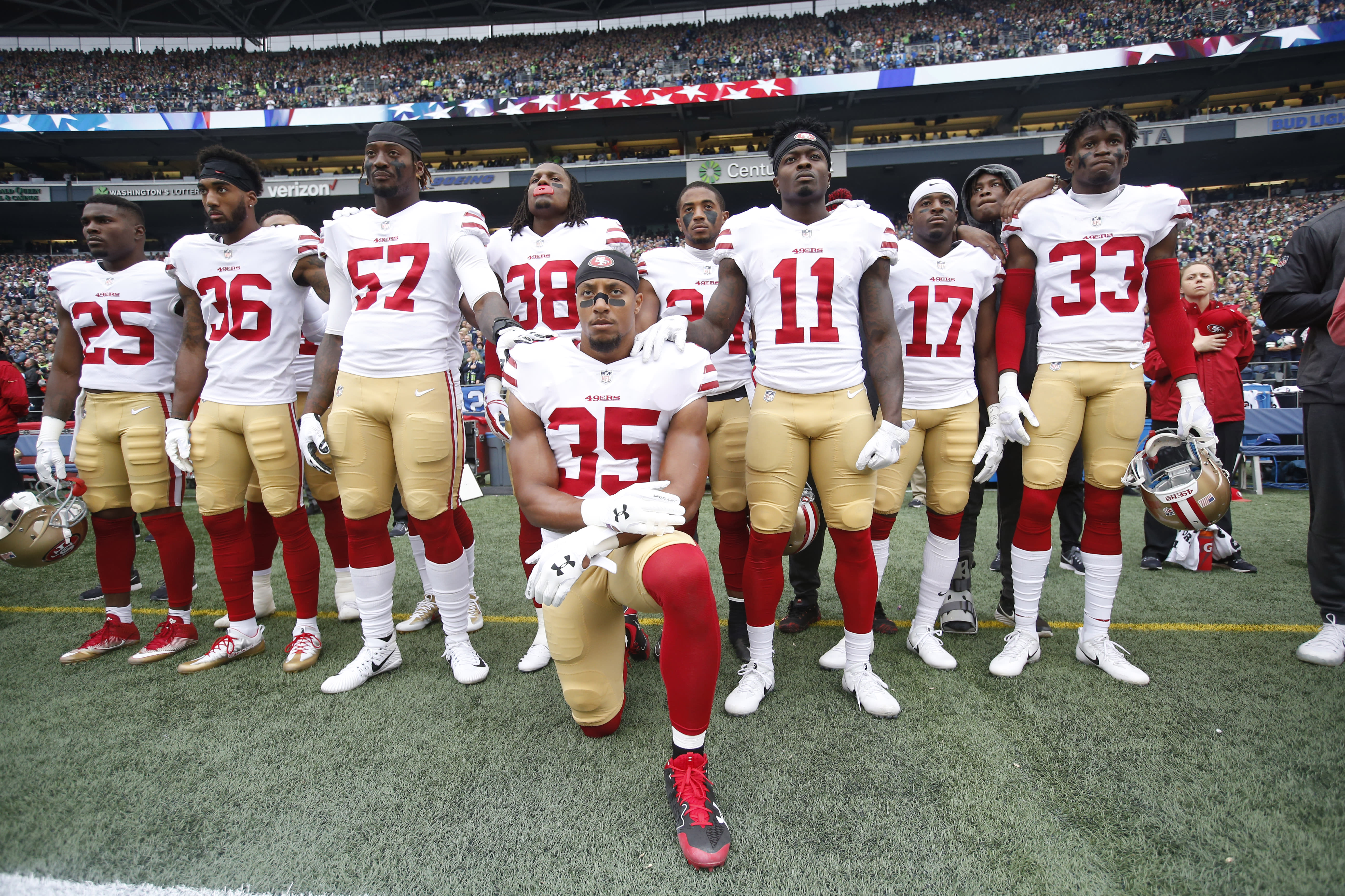 watch f8cb8 56dbe The Carolina Panthers Aren't Heroes for Signing Eric Reid