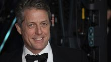 Hugh Grant says son stabbed himself in the face with pen during home-schooling session