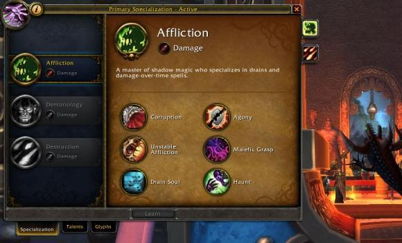 Blood Pact: Affliction 101 at 90 in the end of Mists