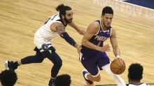 Booker scores 43 points, surging Suns beat T-wolves 118-99