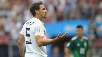 Germany's defence was poor in defeat to Mexico – we must improve if we want to stay in World Cup, says Mats Hummels