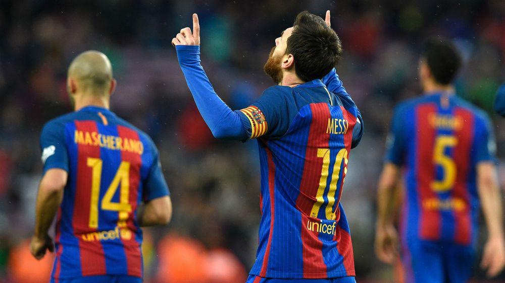 """Digne: """"Cuando crees que lo has visto todo, Messi te sorprende"""""""