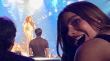 Sofía Vergara mostró que es fan número 1 de Jennifer López; quedó boquiabierta en su concierto