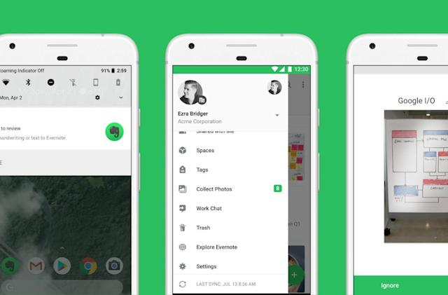 Evernote cuts staff as user growth stalls